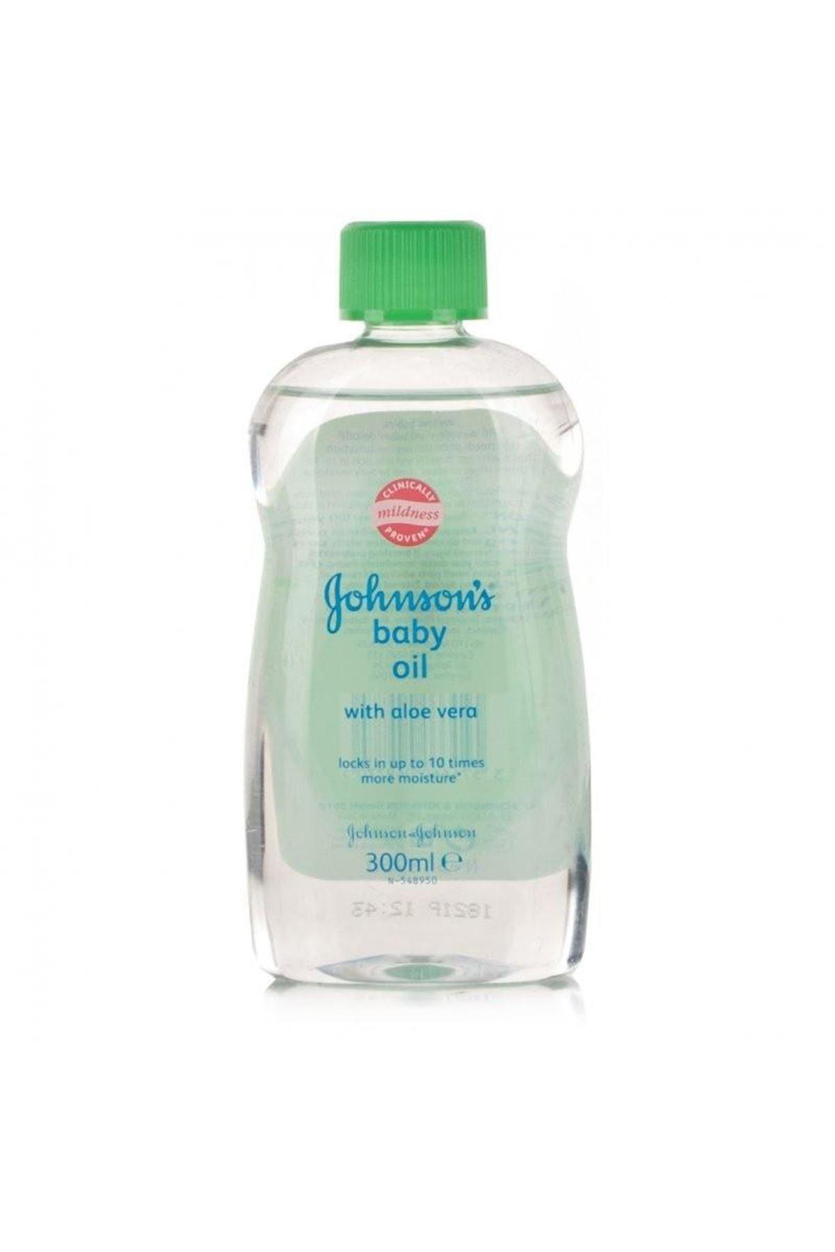 Johnson's Baby Nemlendirici Aloe Veralı Bebek Yağı 300 ml