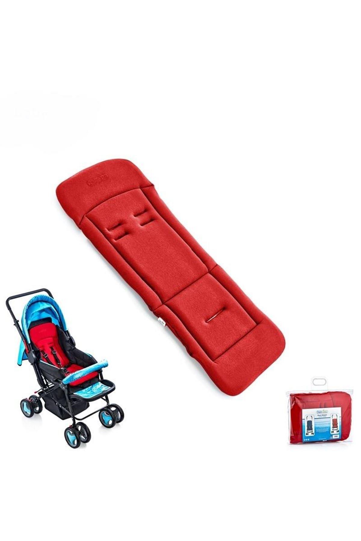 BabyJem Bebek Arabası Puset Minderi 346 Kırmızı