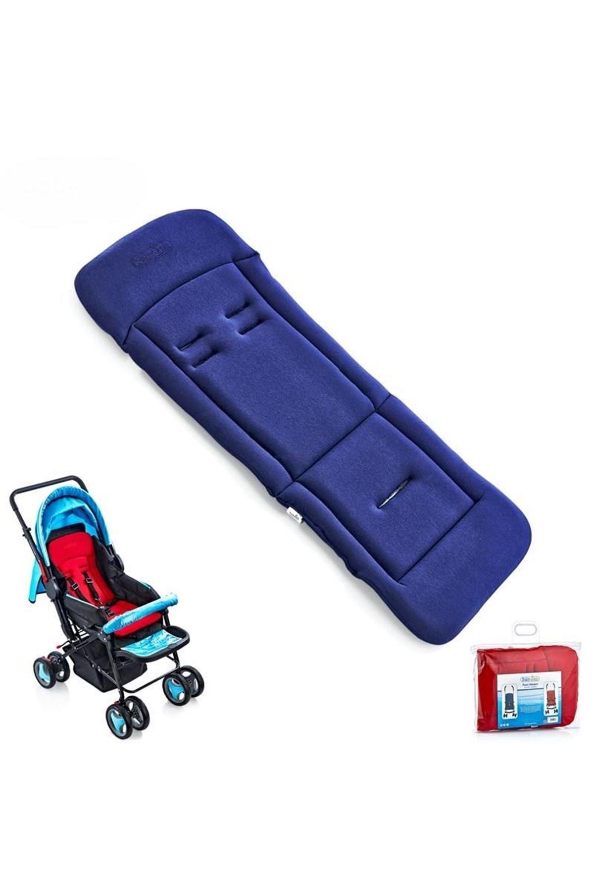 BabyJem Bebek Arabası Puset Minderi 346 Lacivert