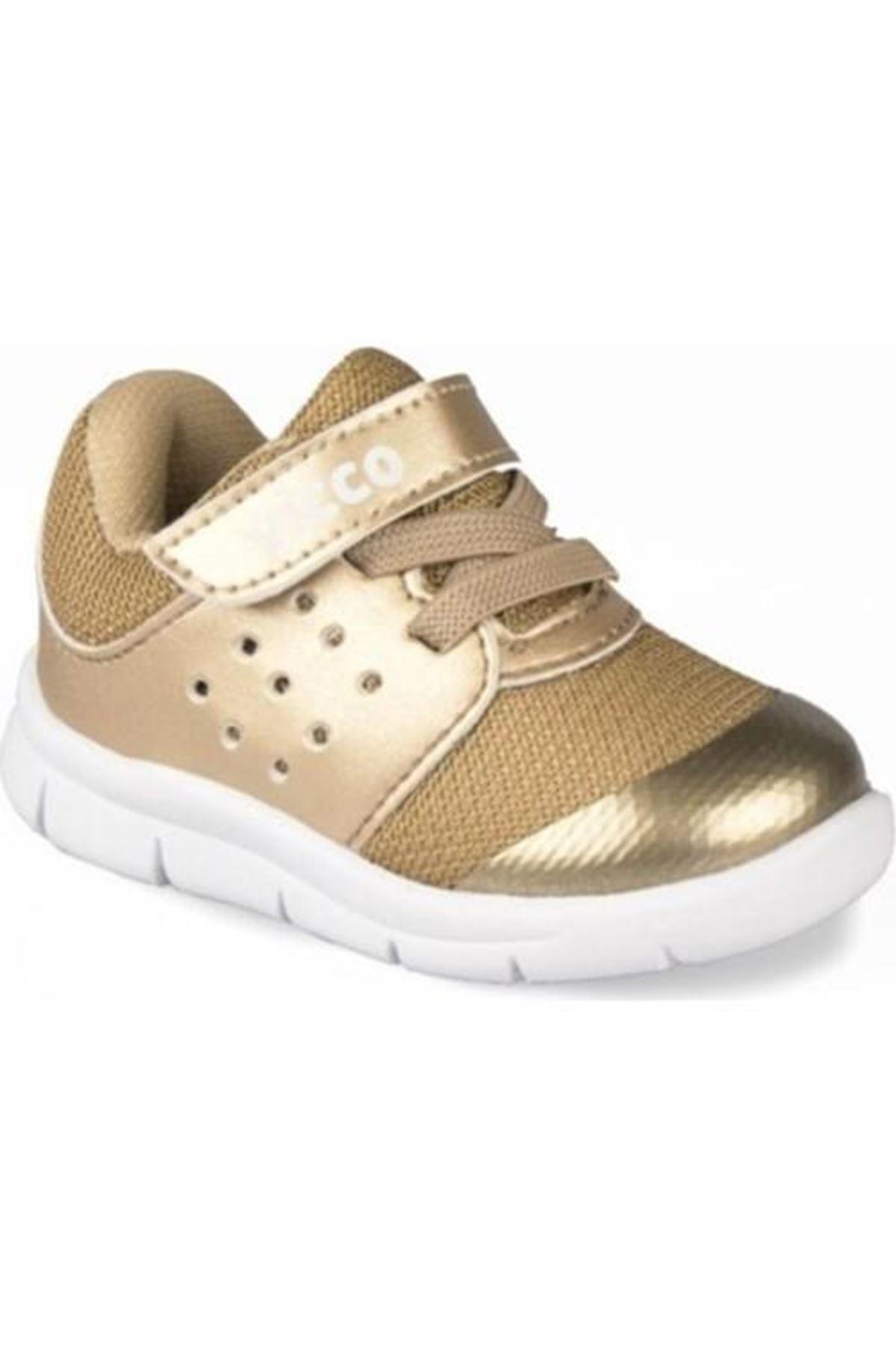 Vicco İlk Adım Deri Ayakkabı 346.E20Y.200 Altın