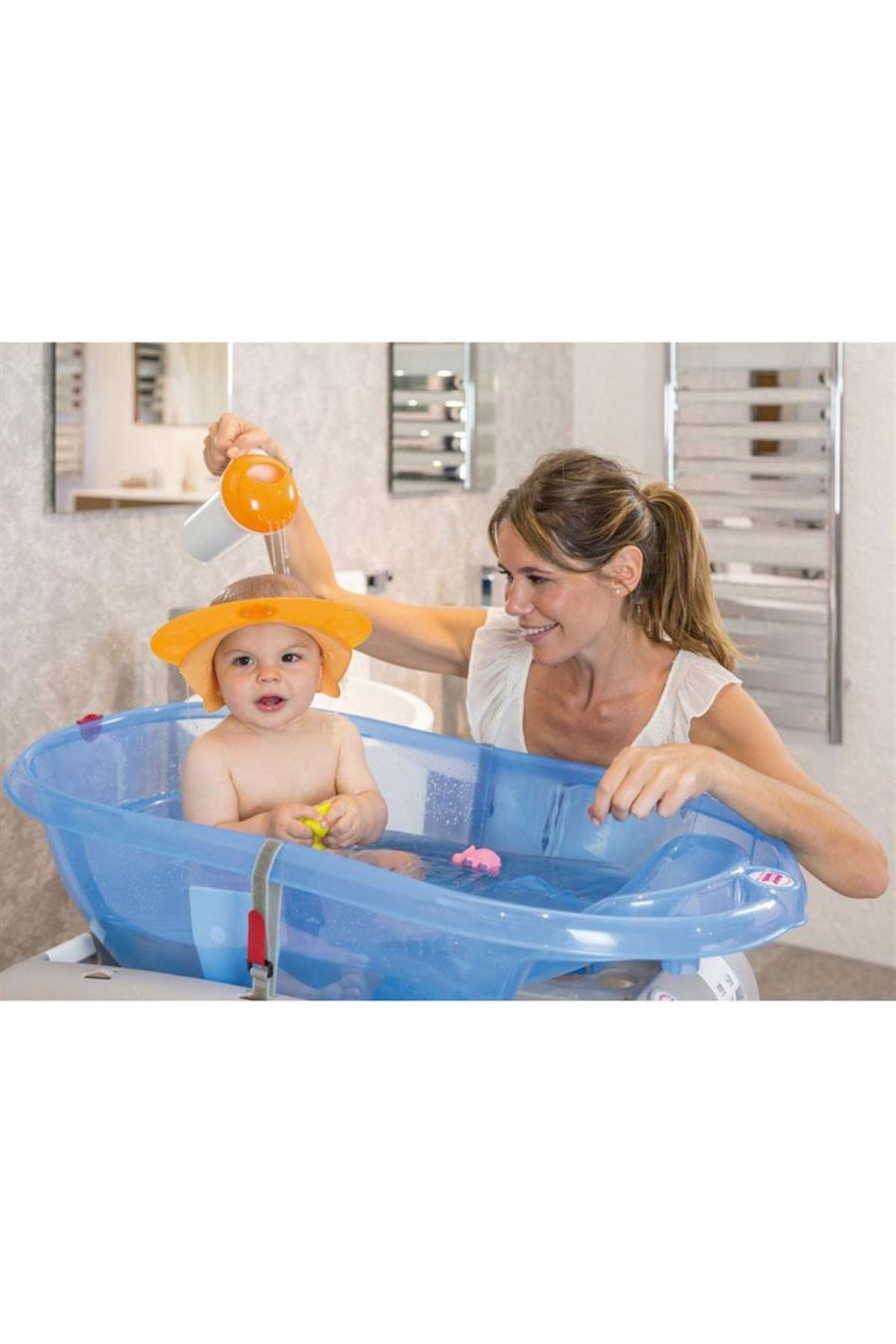 Okbaby Hippo Banyo Siperliği / Turuncu