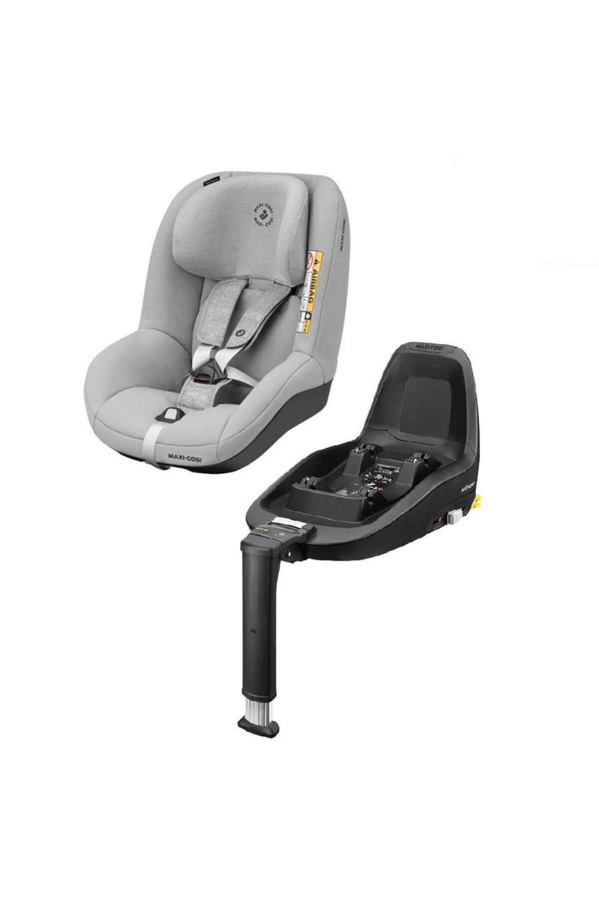 Maxi-Cosi Pearl Smart i-Size Oto Koltuğu & FamilyFix3 Isofix Baza / Nomad Grey
