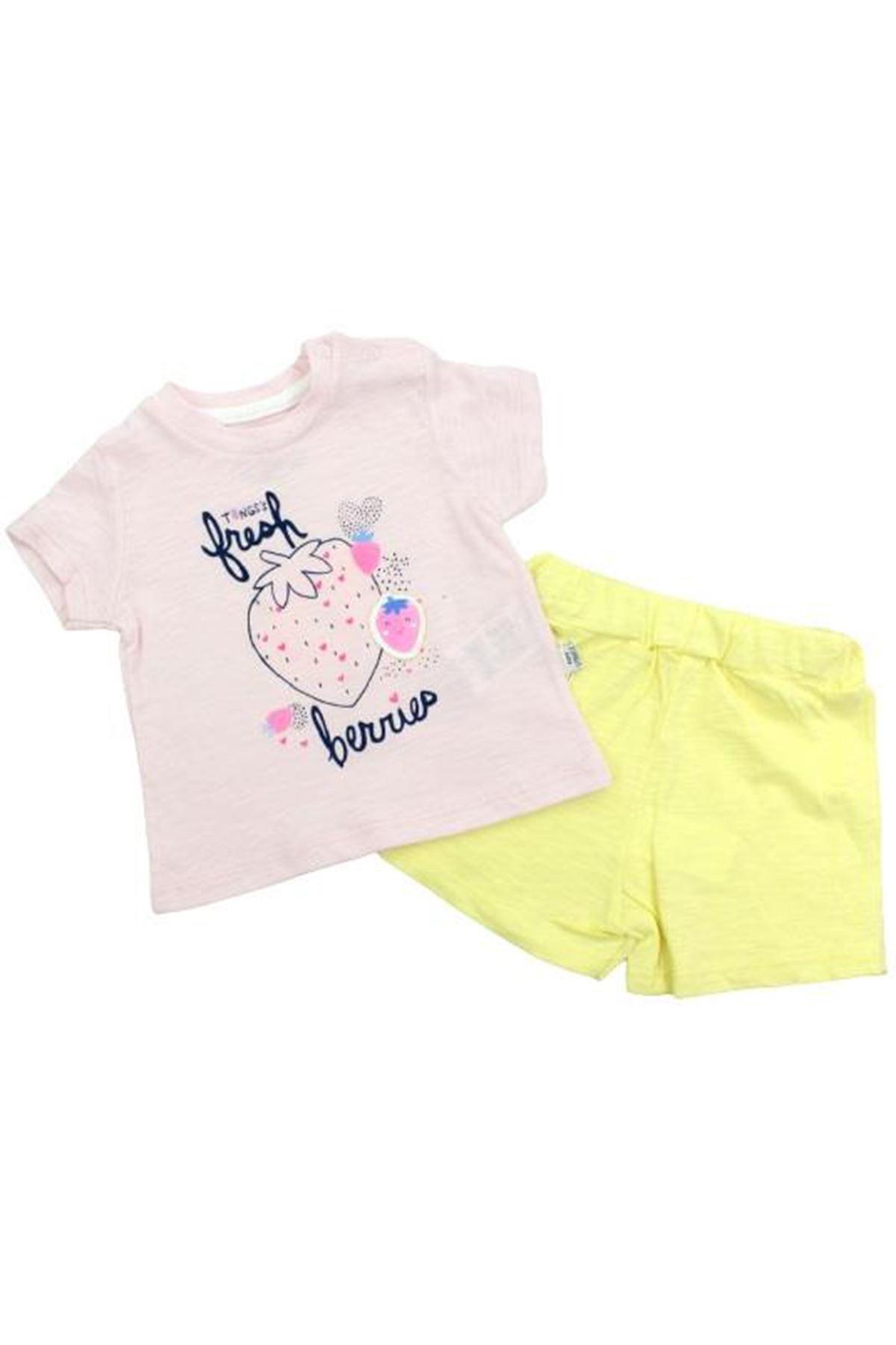 Tongs Baby Fresh Berries 2li Bebe Takım 2863 Pembe