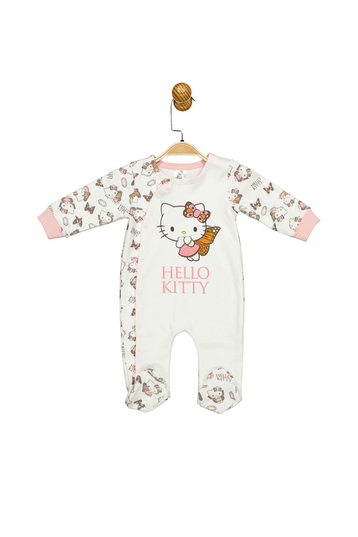 Çimpa Hello Kitty Patikli Tulum HK17477 Ekru