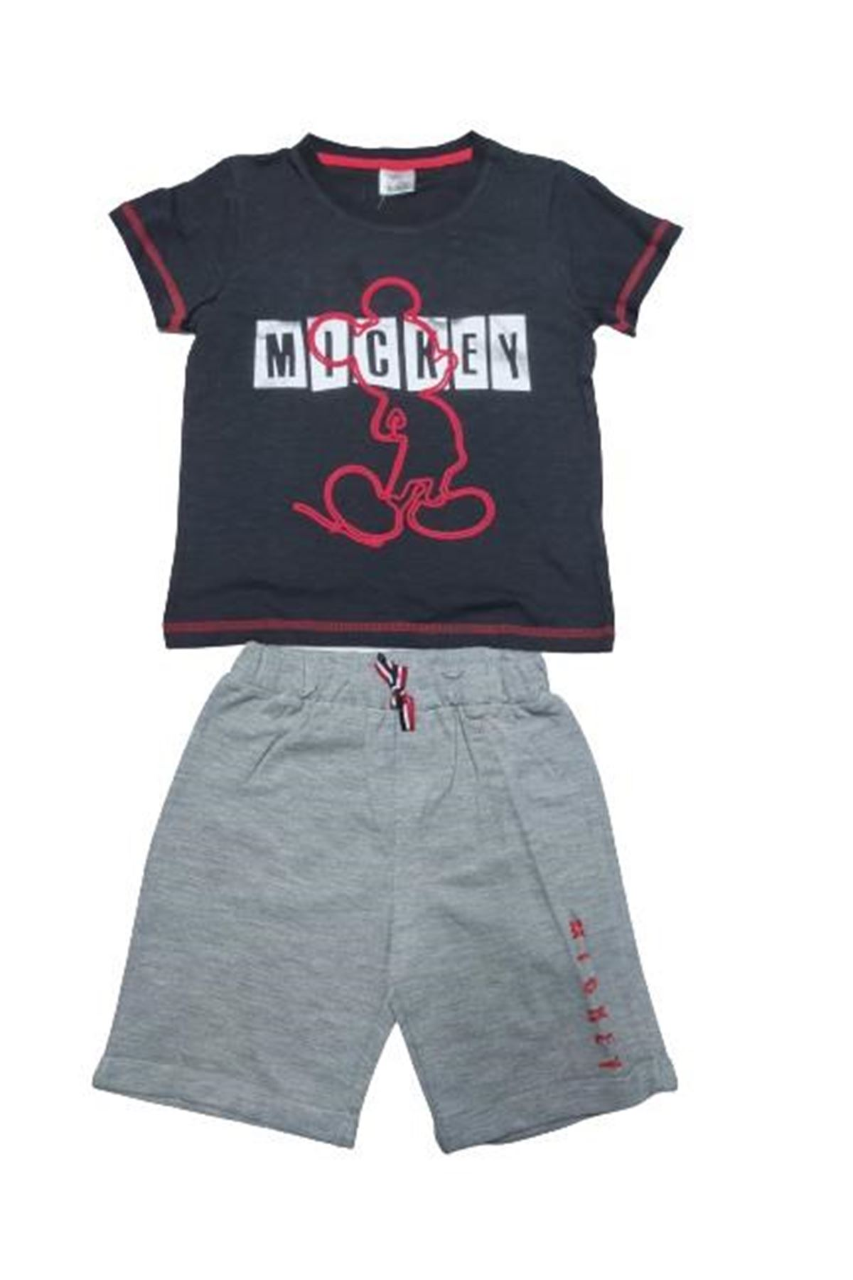 Çimpa Mickey 2li Takım MC15598 Siyah