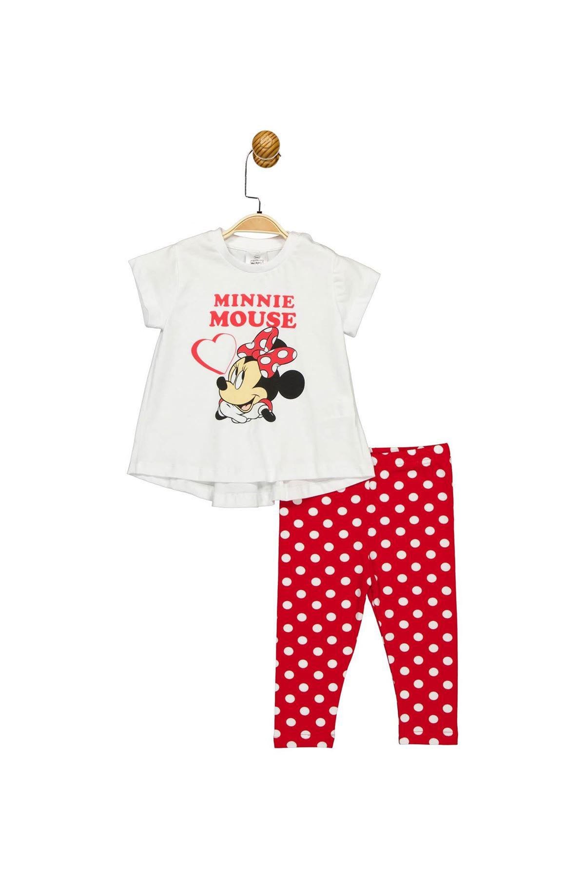 Çimpa Minnie 2li Takım MN17357 Beyaz