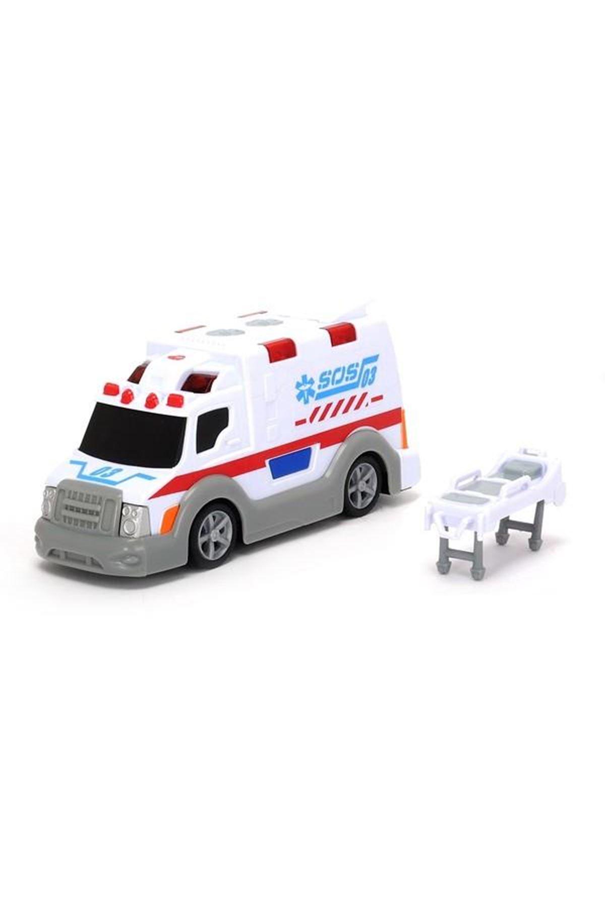 Dickie Toys Sesli Işıklı Pilli Ambulans