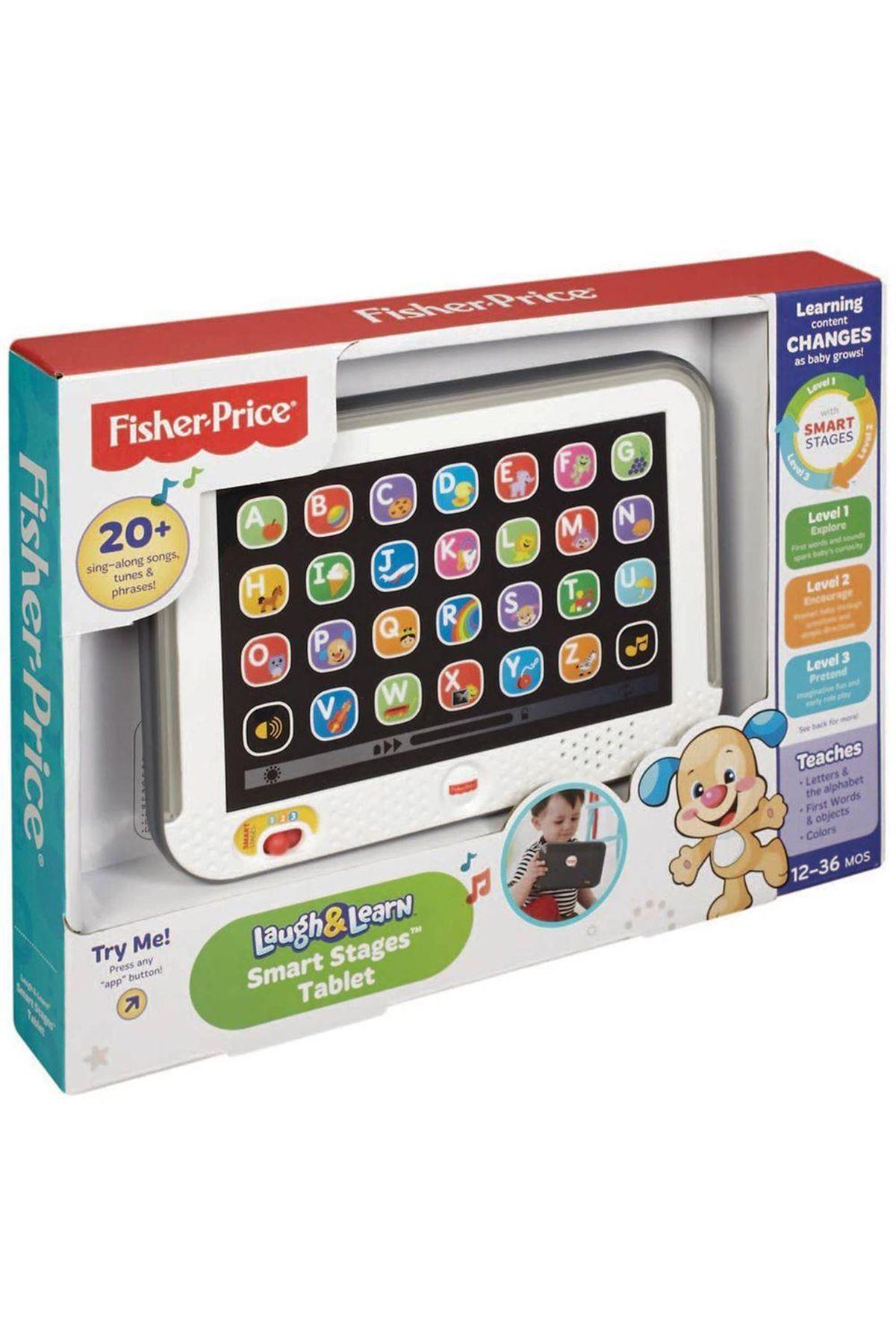 Fisher Price LnL Yaşa Göre Gelişim Eğitici Tablet (Türkçe) CLK64