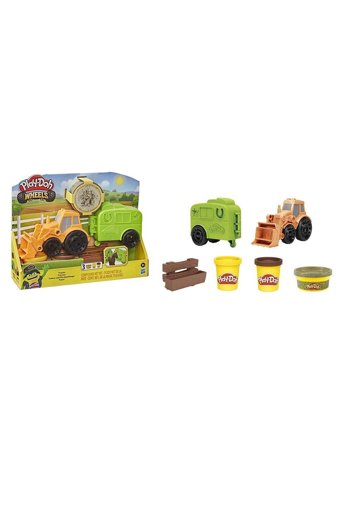 Play-Doh Çalışkan Traktör ve Römork F1012