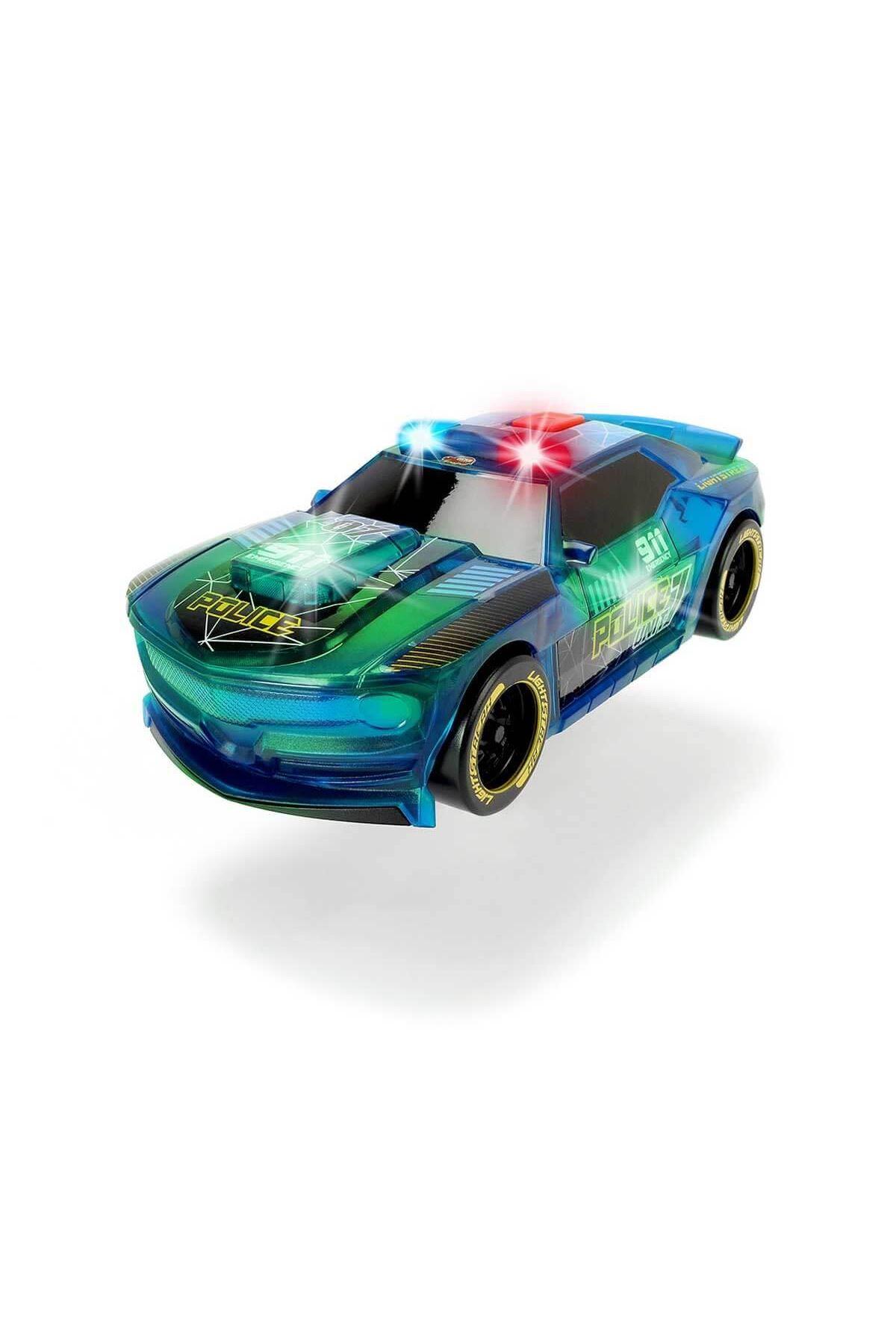 Dickie Toys Işıklı ve Sesli Lightstreak Polis Yarış Arabası
