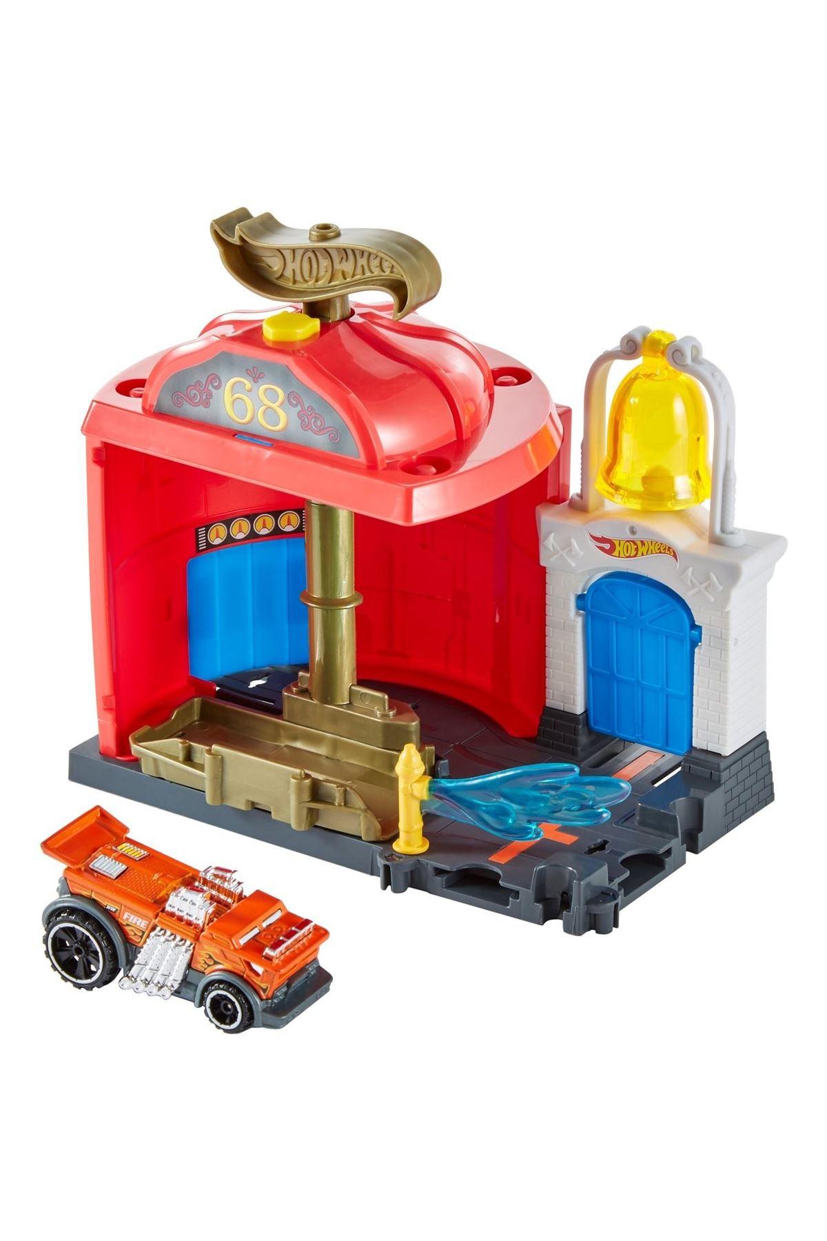 Hot Wheels Şehir Otoparkı Oyun Setleri FRH28 FRH29