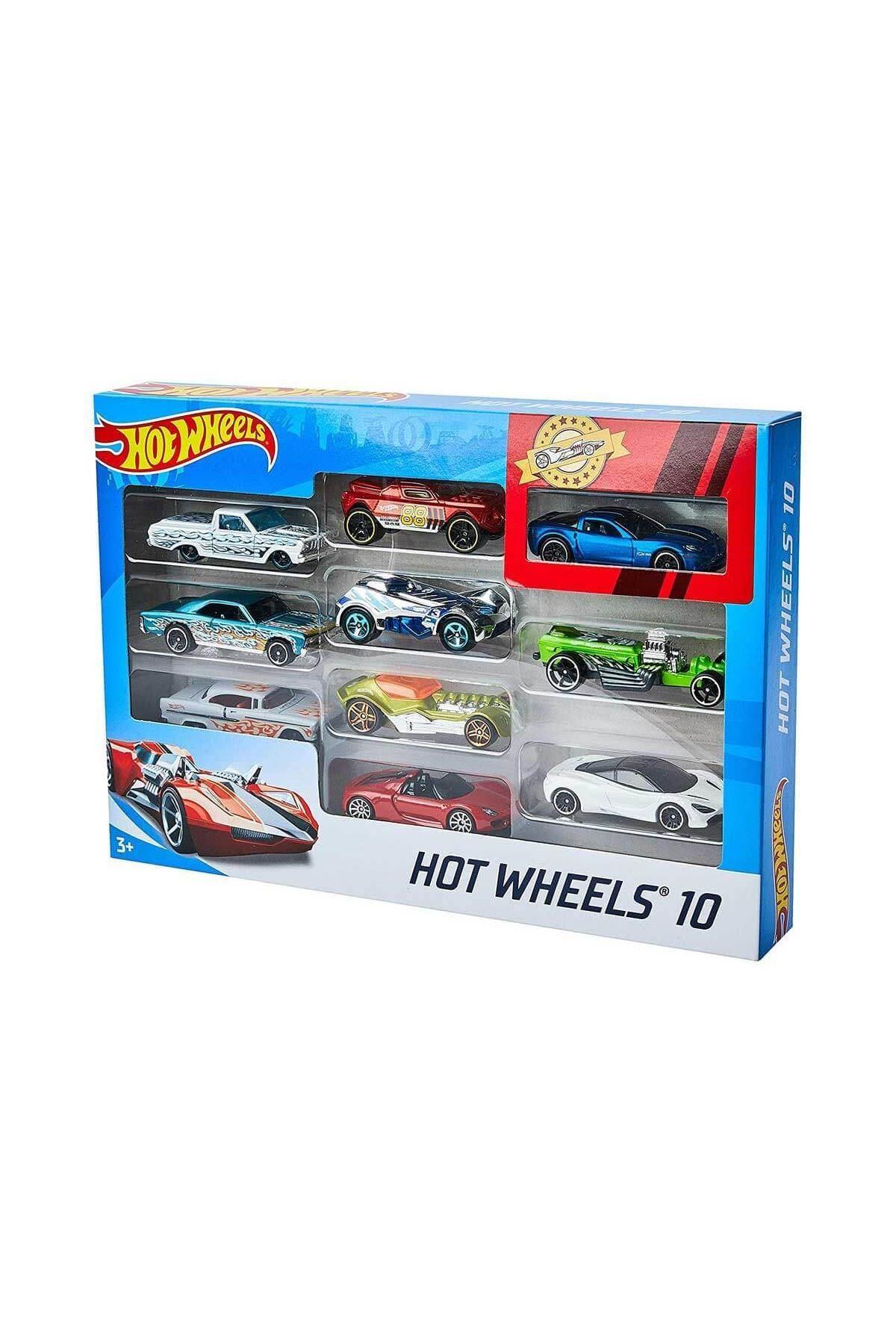 Hot Wheels Araba Seti 10lu 54886