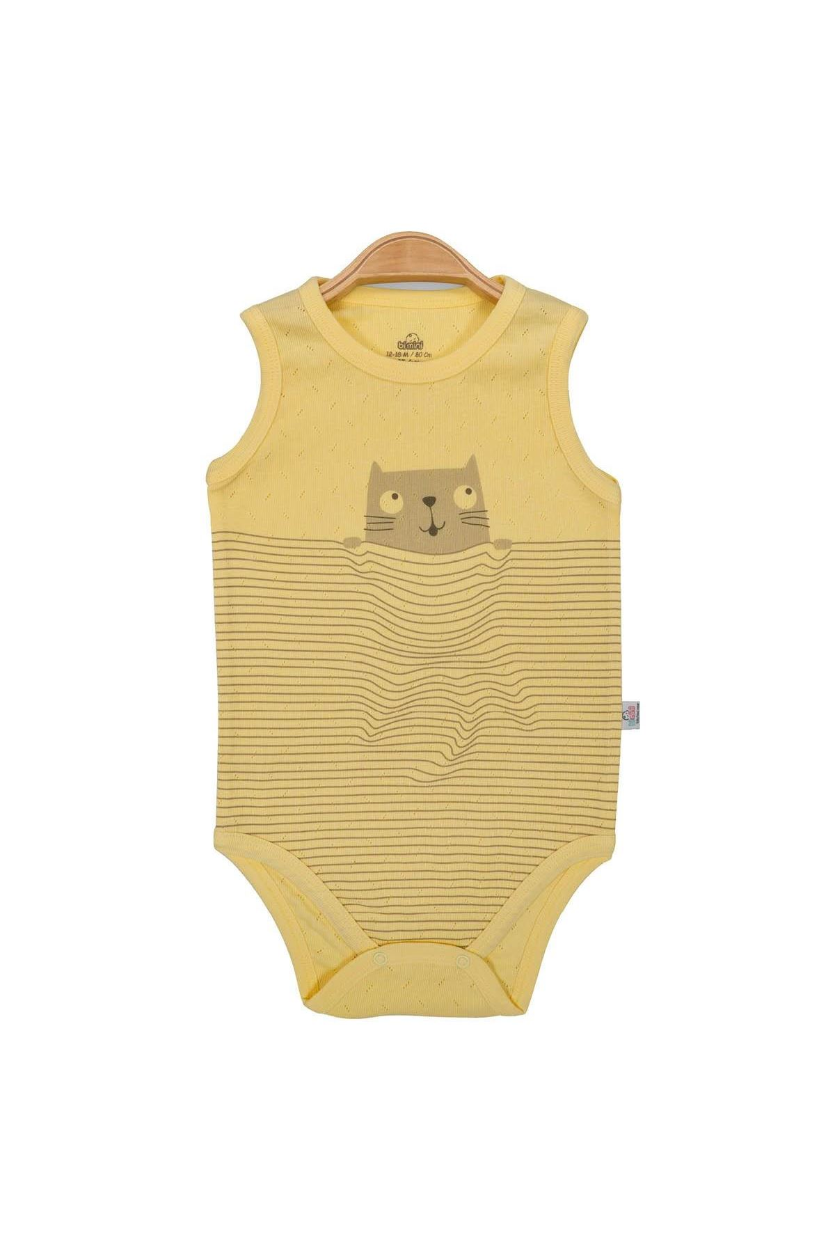 Bibaby Bimini Cats Time Atlet Yaş Body 56785 Sarı