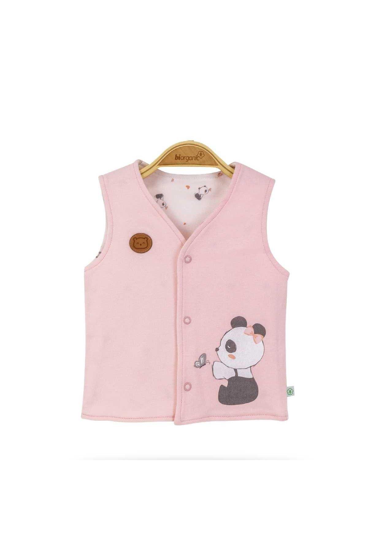 Bibaby Biorganik Elegant Panda Yelek 61385 Organik