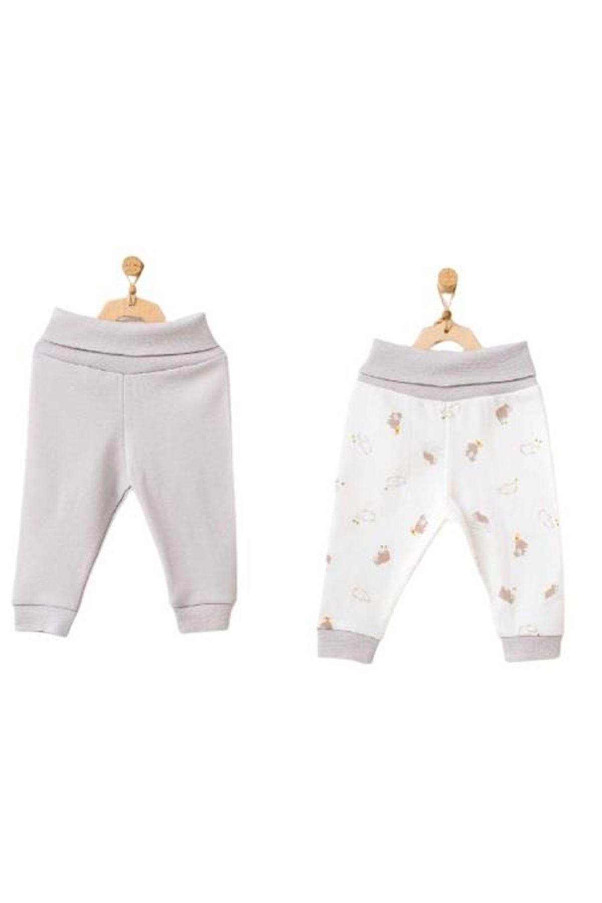 Andywawa AC21764 Hippo 2li Pantolon Grey
