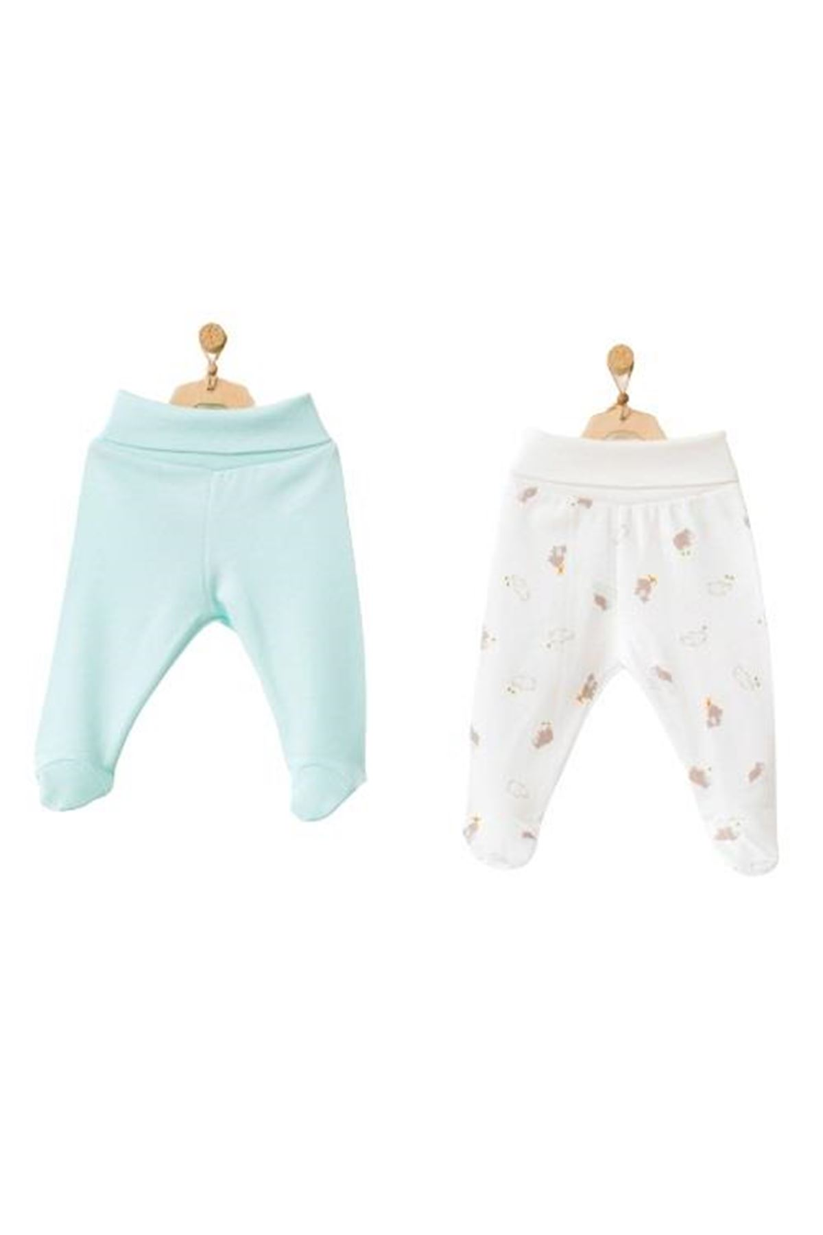 Andywawa AC21763 Hippo 2li Pantolon Mint