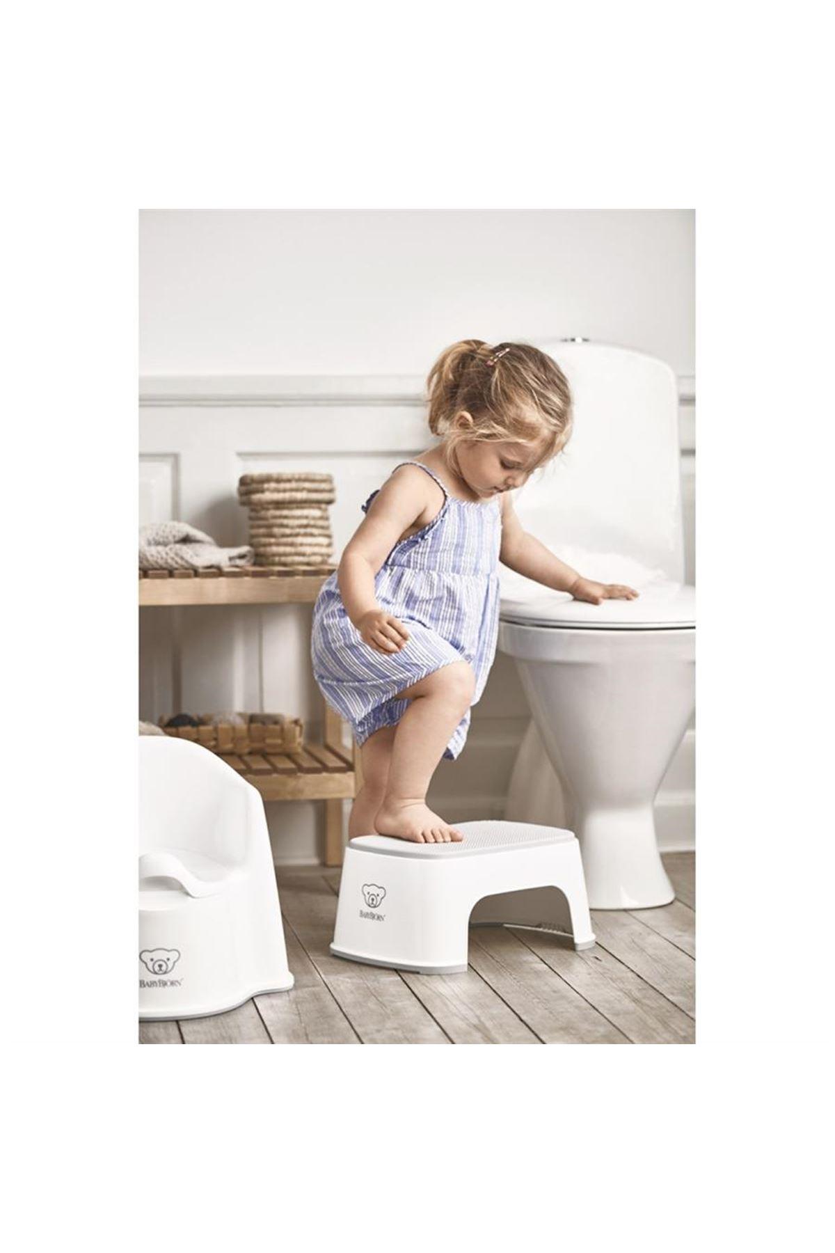 BabyBjörn Safe Step Banyo Basamağı / White
