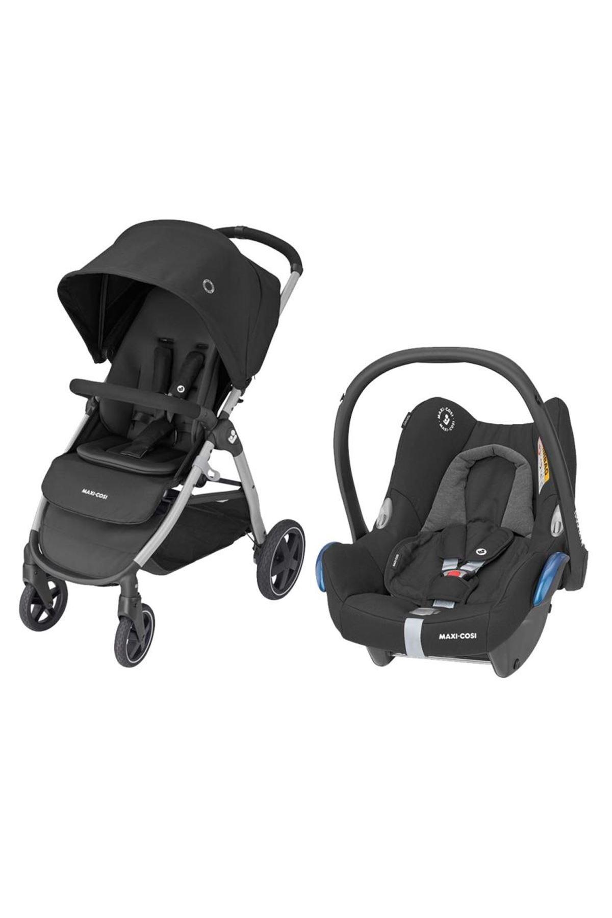 Maxi-Cosi Gia Travel Sistem Bebek Arabası / Essential Black