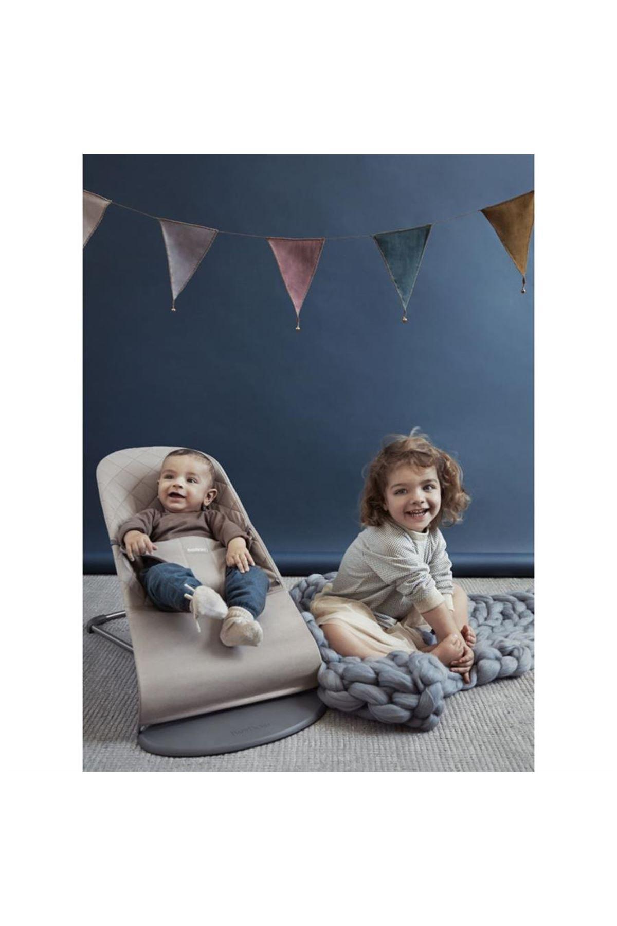 Babybjörn Balance Bliss Ana Kucağı Cotton /Sand Grey