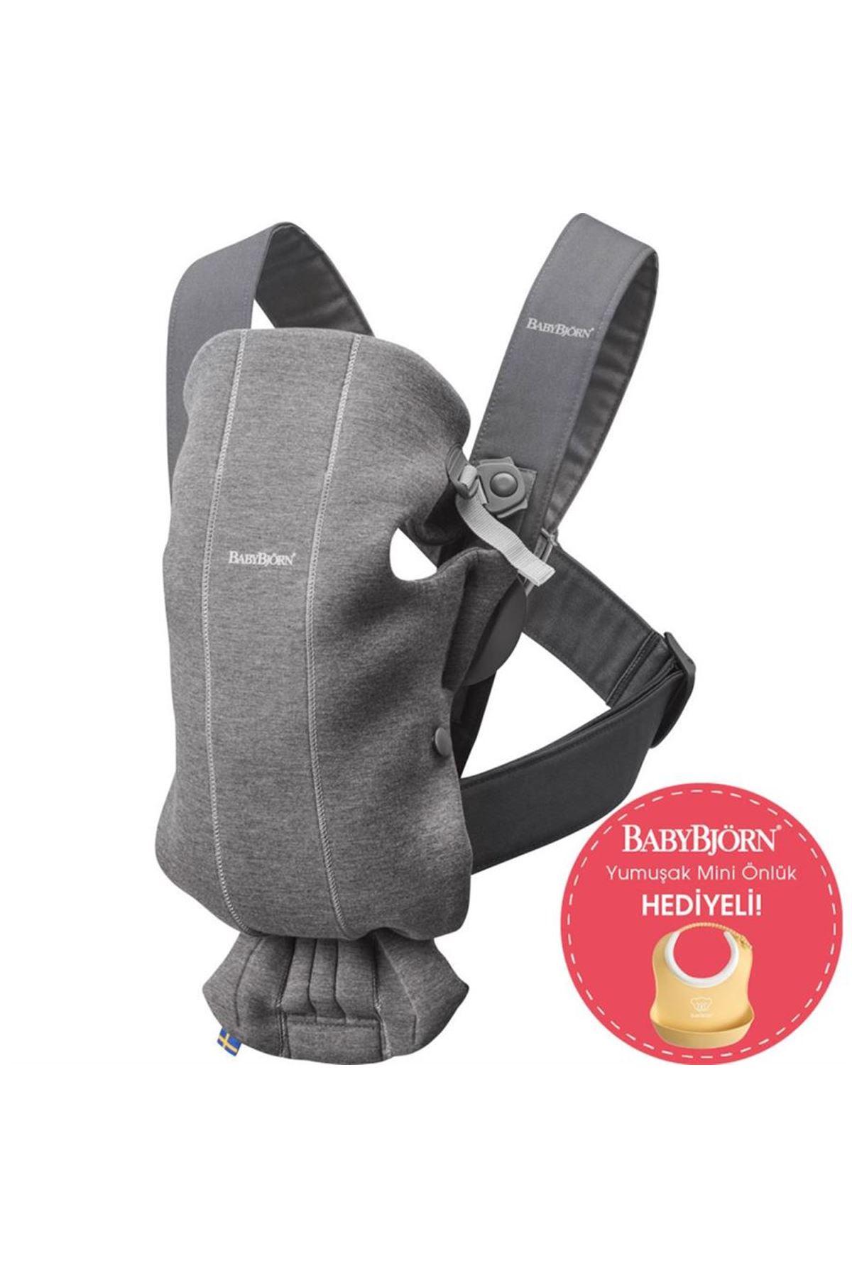 BabyBjörn Kanguru Mini 3D Cotton Jersey / Dark Grey