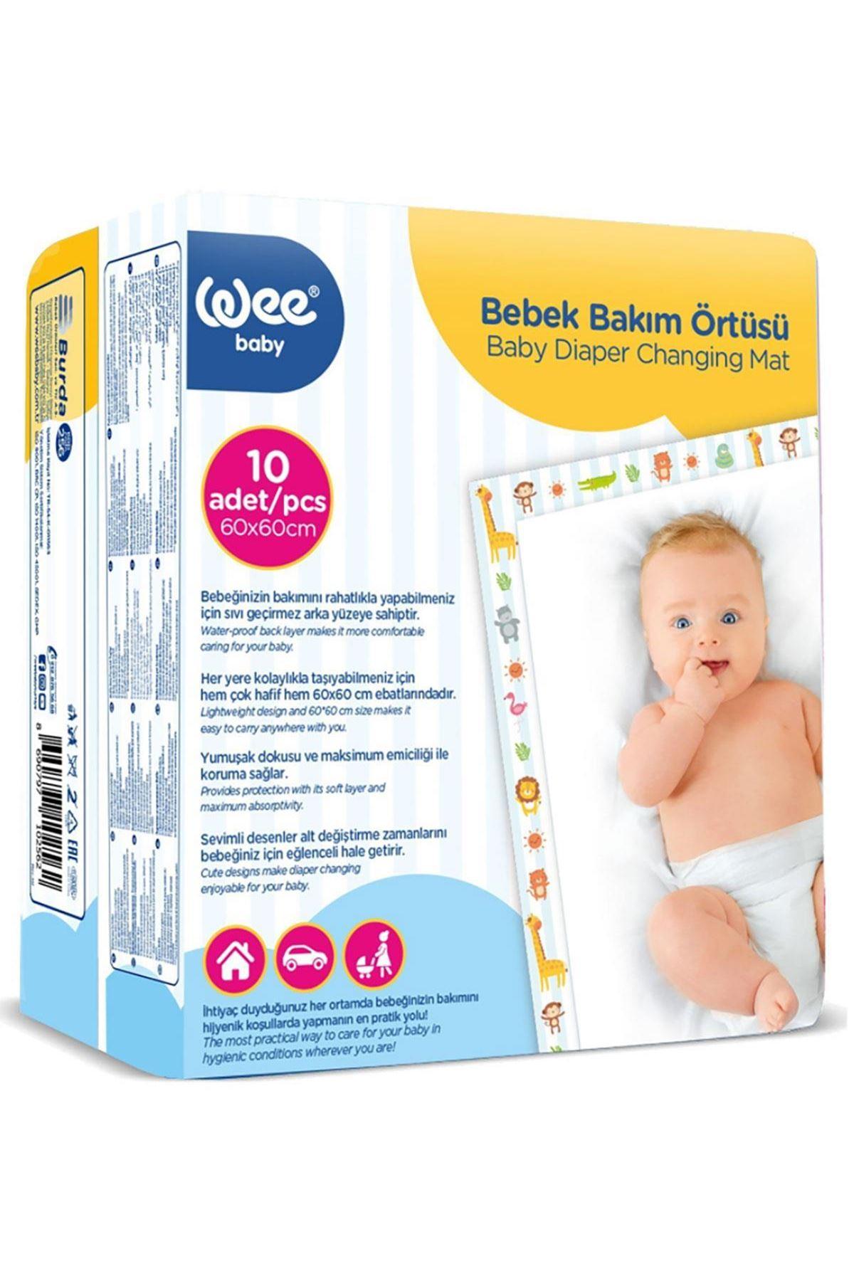 Wee Baby Bebek Bakım Örtüsü 10lu 256