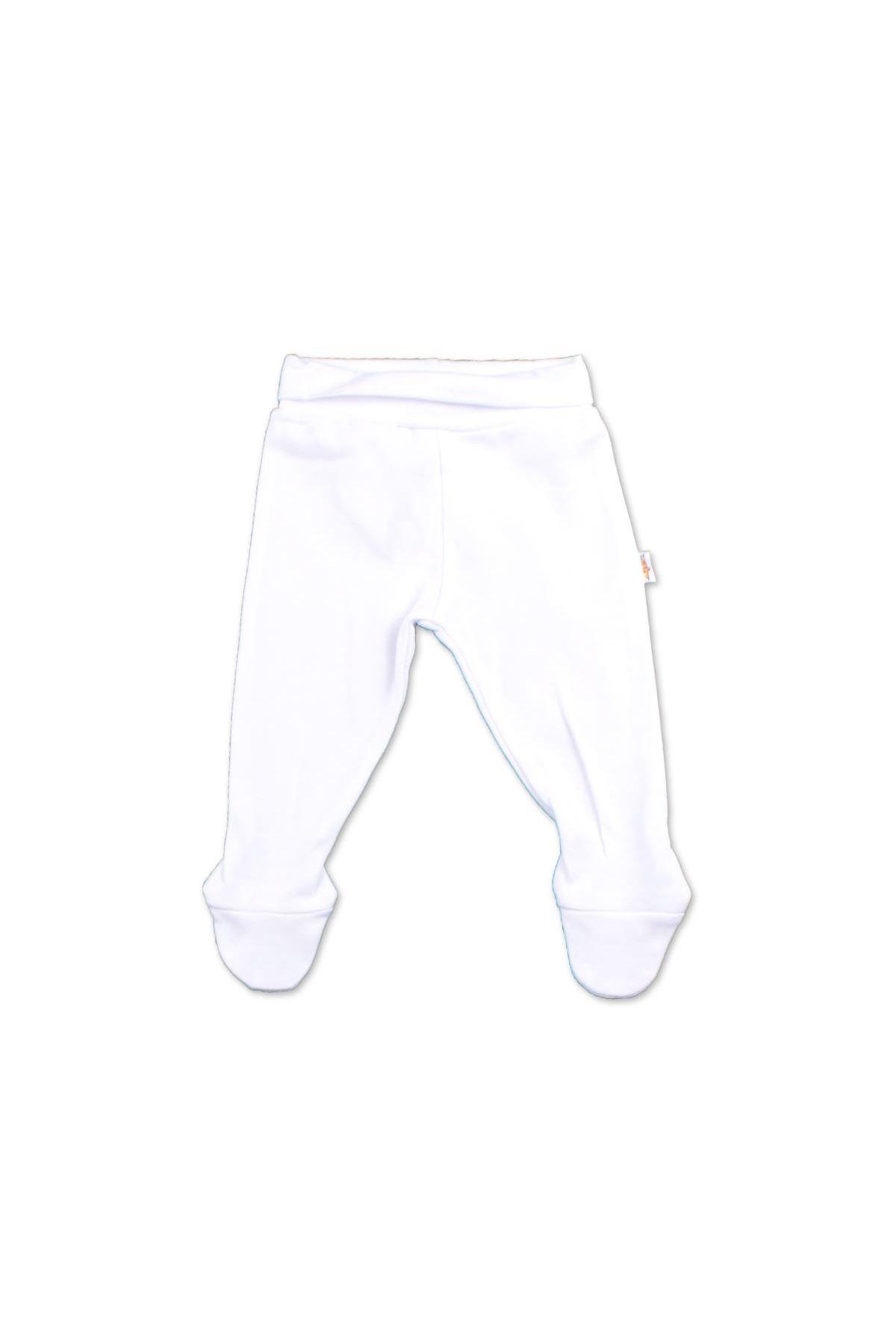 Albimini Minidamla Penye Patikli Pantolon 43002 Ekru