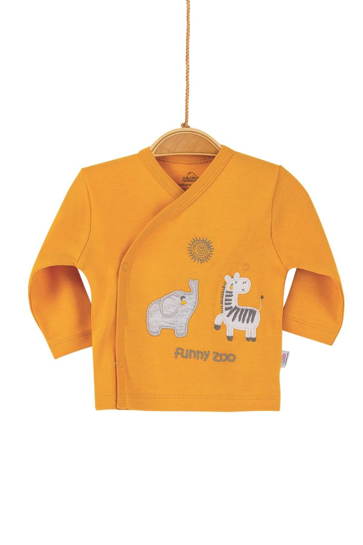 Bibaby Bimini Funny Zoo 5 Parça Zıbın Seti 62208 Hardal