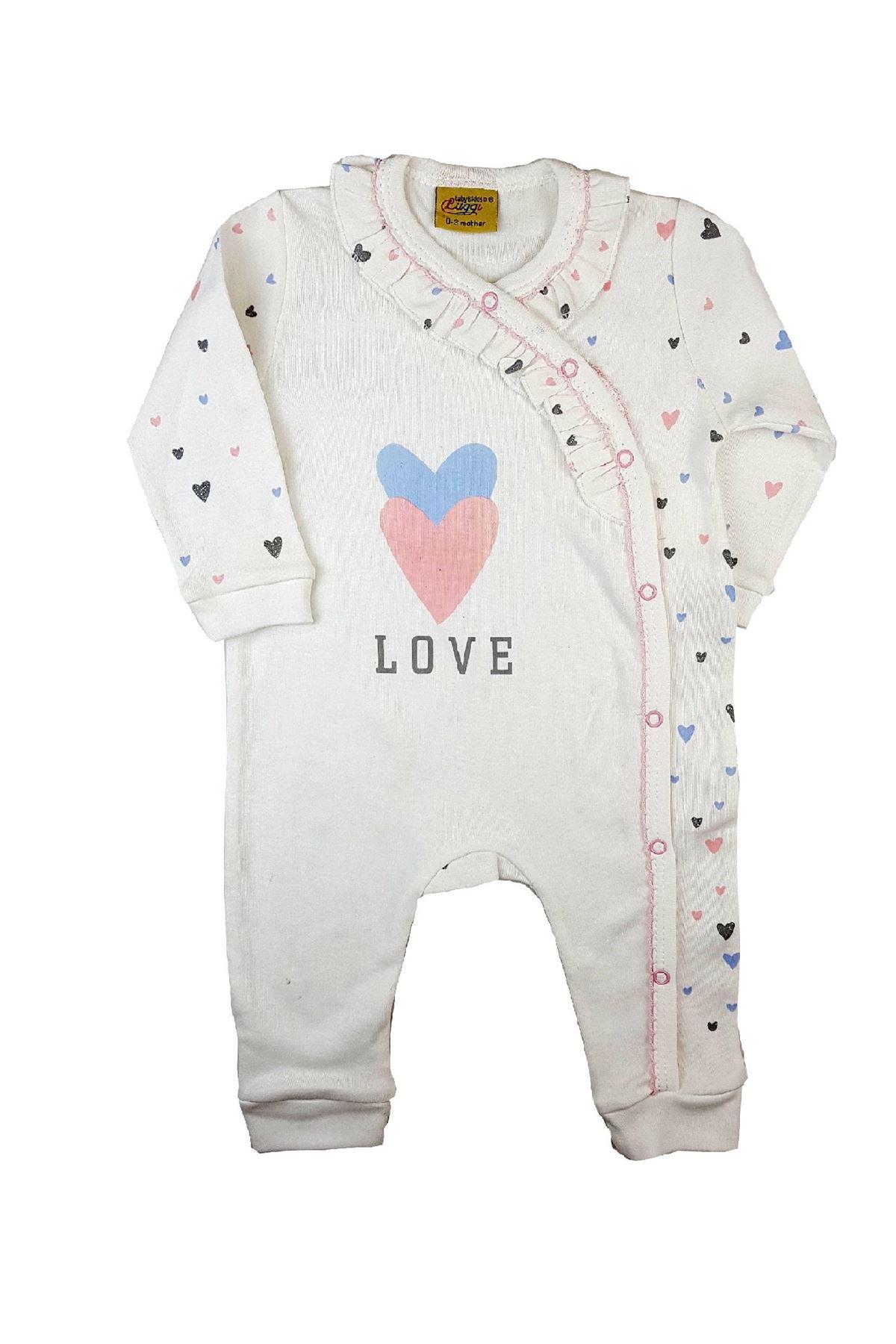 Luggi Baby Organic Love Kruvaze Tulum 6444 Orjinal
