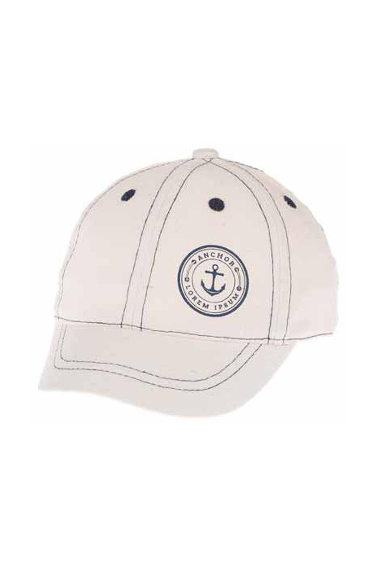 Kitti Aylık Erkek Şapka (0-18 Ay) 101012 Beyaz