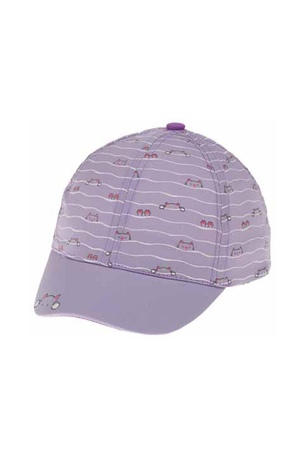 Kitti Bebe Kız Şapka (1-4 Yaş) 110001 Lila
