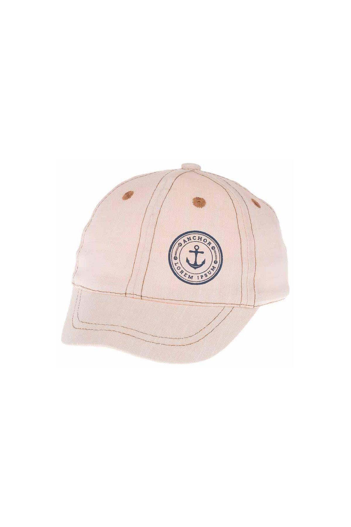 Kitti Aylık Erkek Şapka (0-18 Ay) 101012 Bej