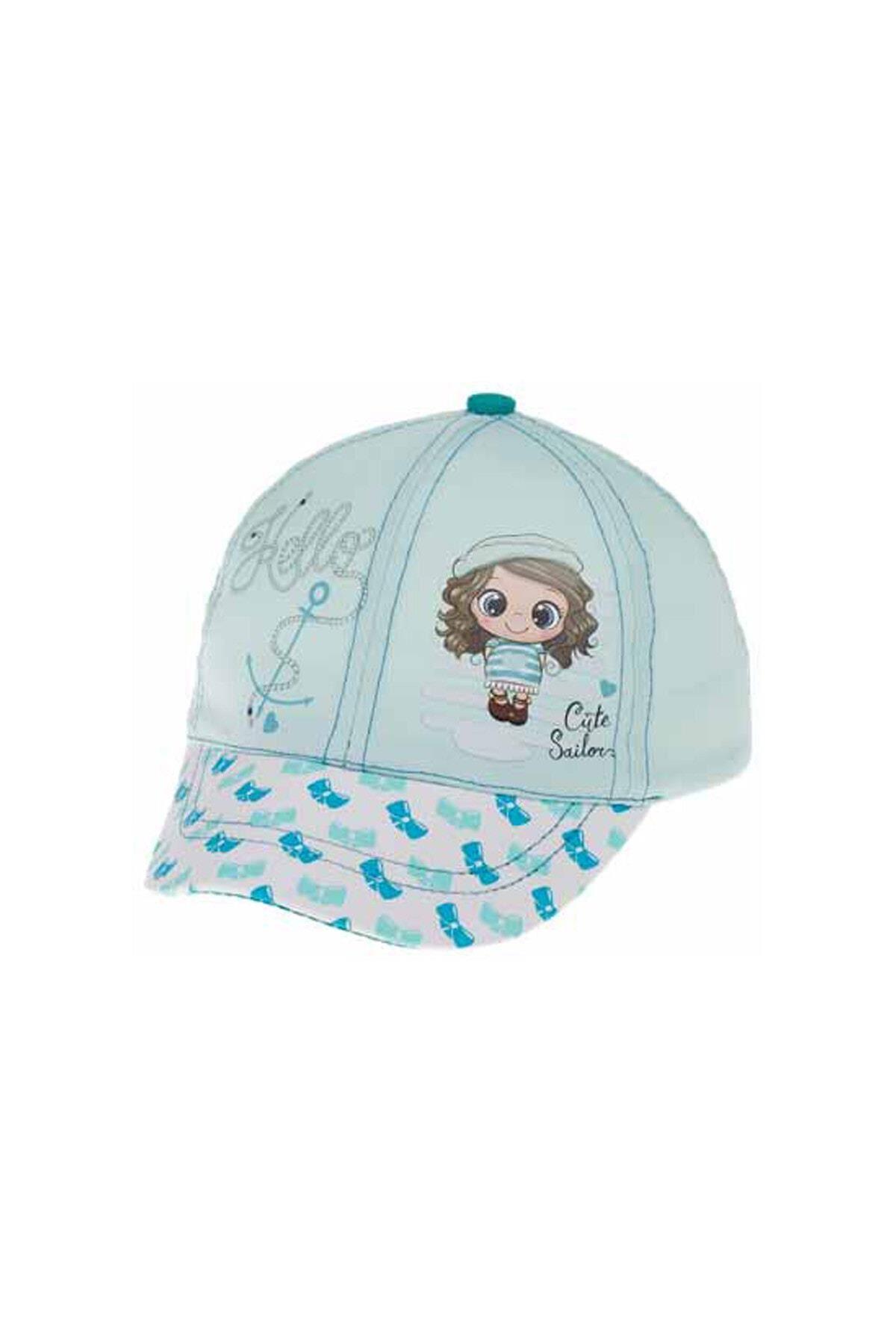 Kitti Bebe Kız Şapka (1-4 Yaş) 110003 Açık Mavi