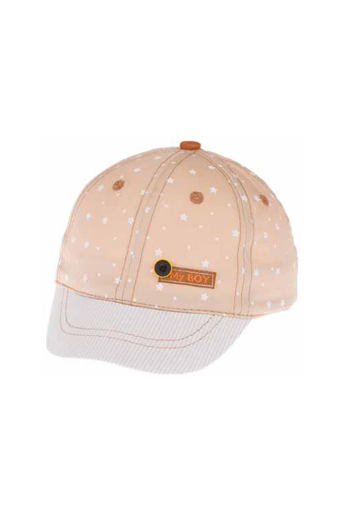 Kitti Aylık Erkek Şapka (0-18 Ay) 101004 Bej