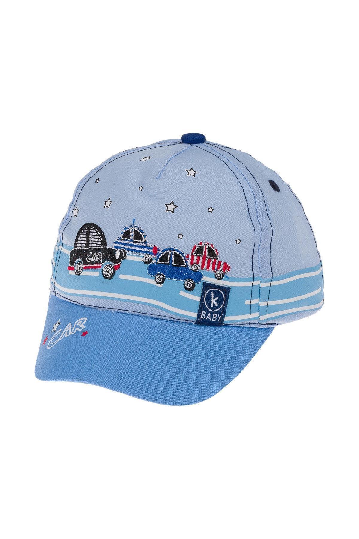Kitti Bebe Erkek Şapka (1-4 Yaş) 111012 Mavi