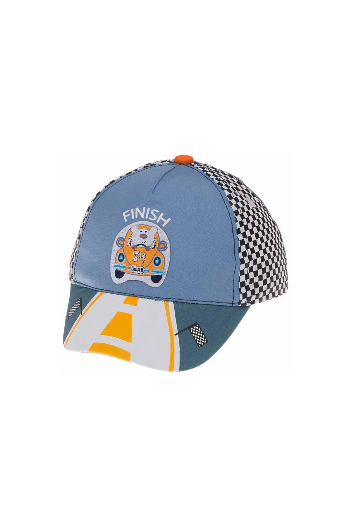 Kitti Bebe Erkek Şapka (1-4 Yaş) 111002 Mavi
