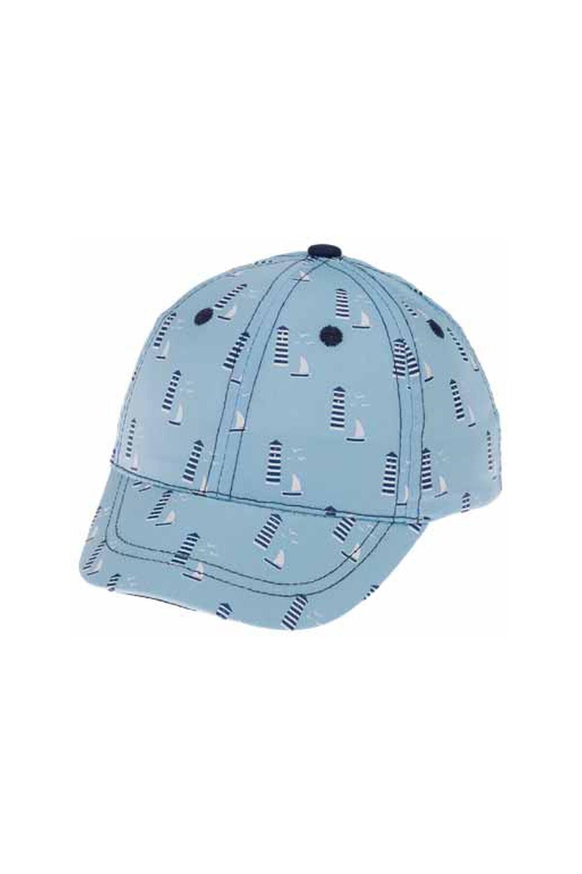 Kitti Bebe Erkek Şapka (1-4 Yaş) 111011 Açık Mavi