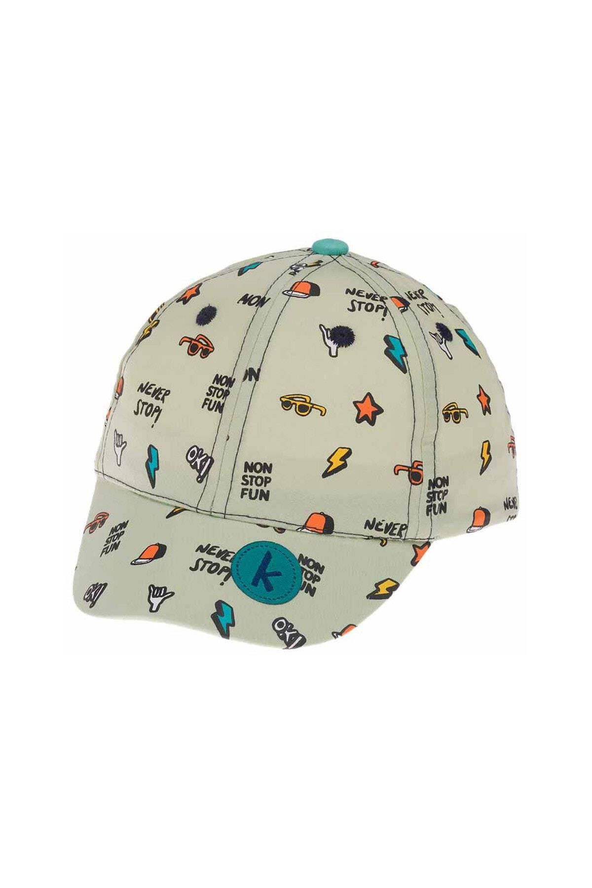 Kitti Bebe Erkek Şapka (1-4 Yaş) 111005 Yeşil