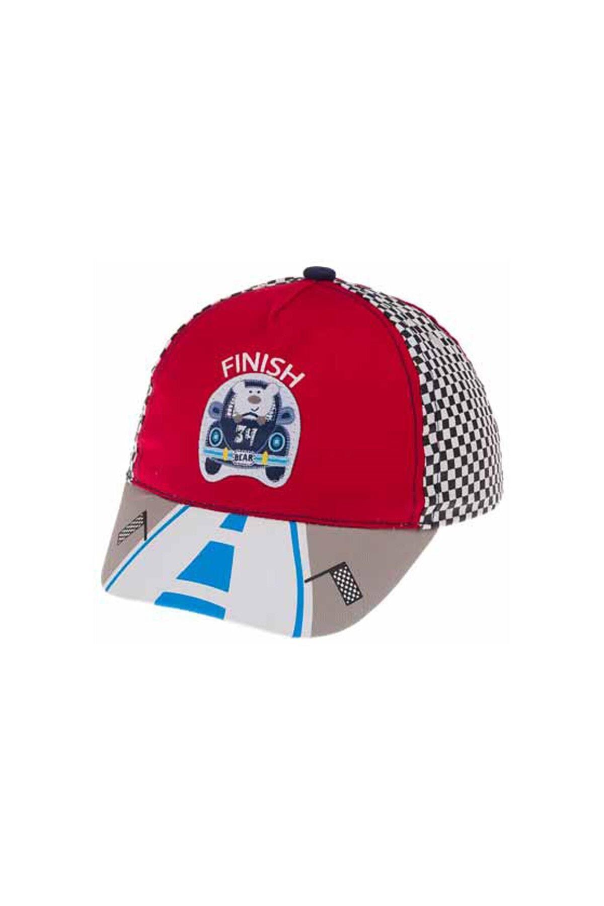 Kitti Bebe Erkek Şapka (1-4 Yaş) 111002 Kırmızı