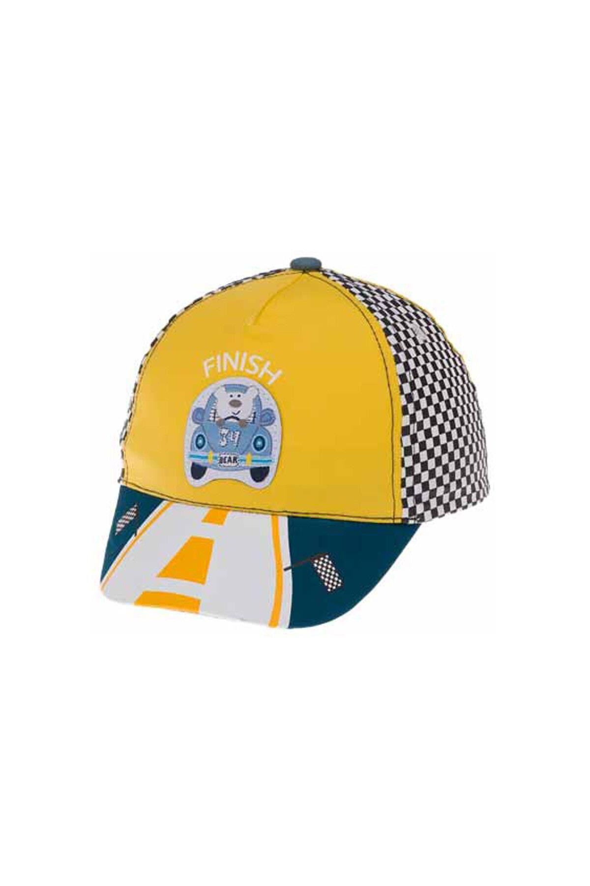 Kitti Bebe Erkek Şapka (1-4 Yaş) 111002 Sarı