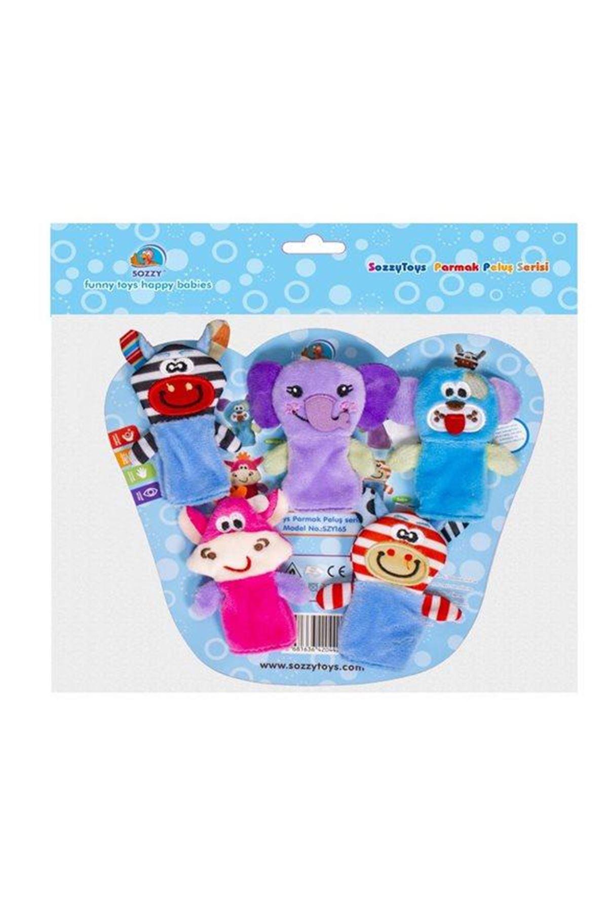Sozzy Toys Parmak Peluş Serisi - B SZY165