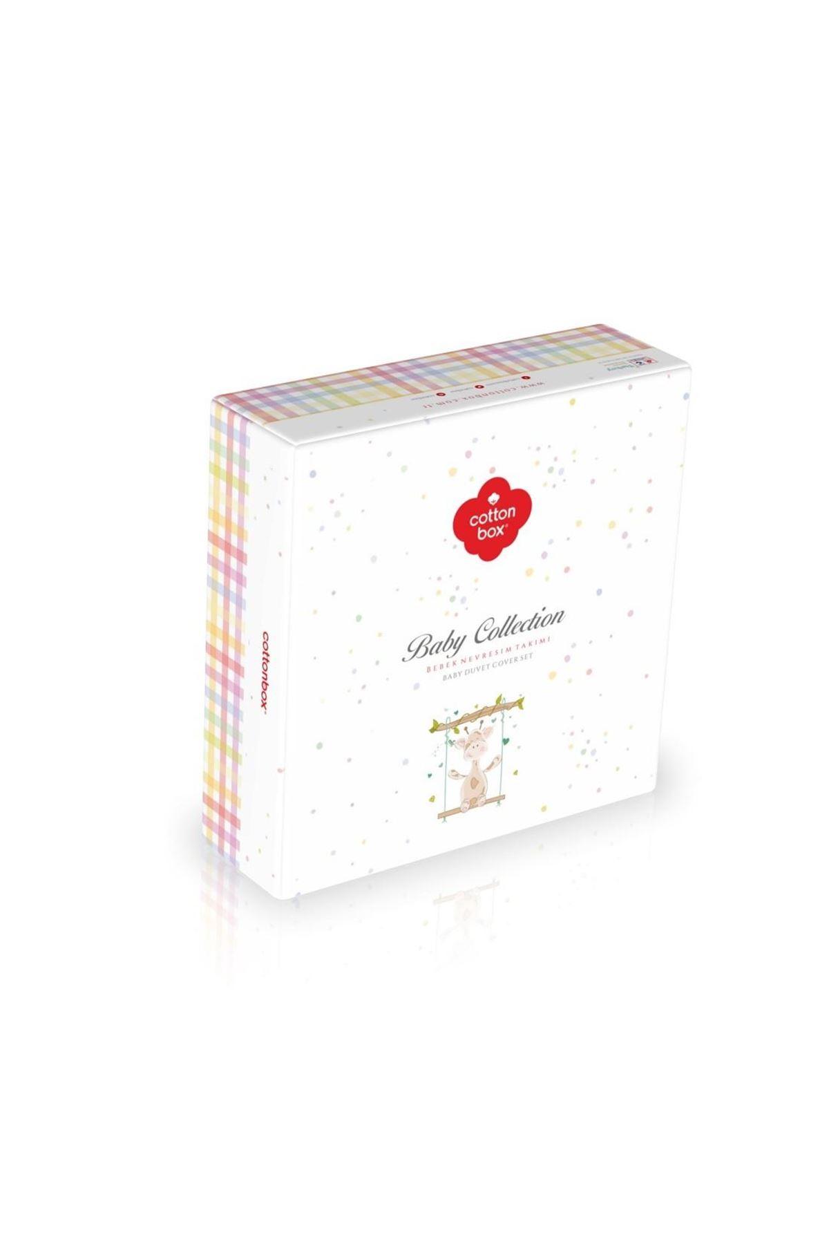 Cotton Box Bebek Nevresim Takımı 100x150 Bunny