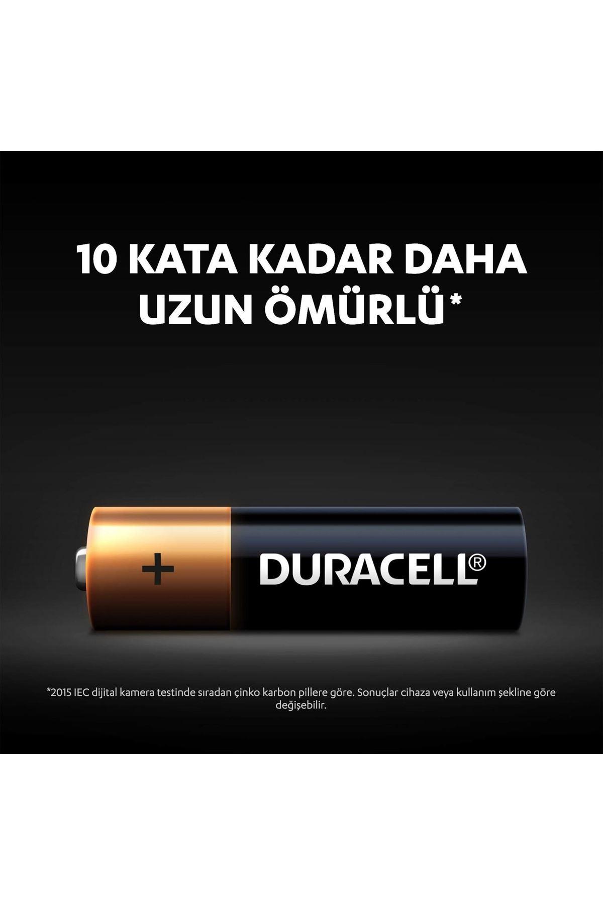 Duracell Basic Kalem Pil 2Lİ AA