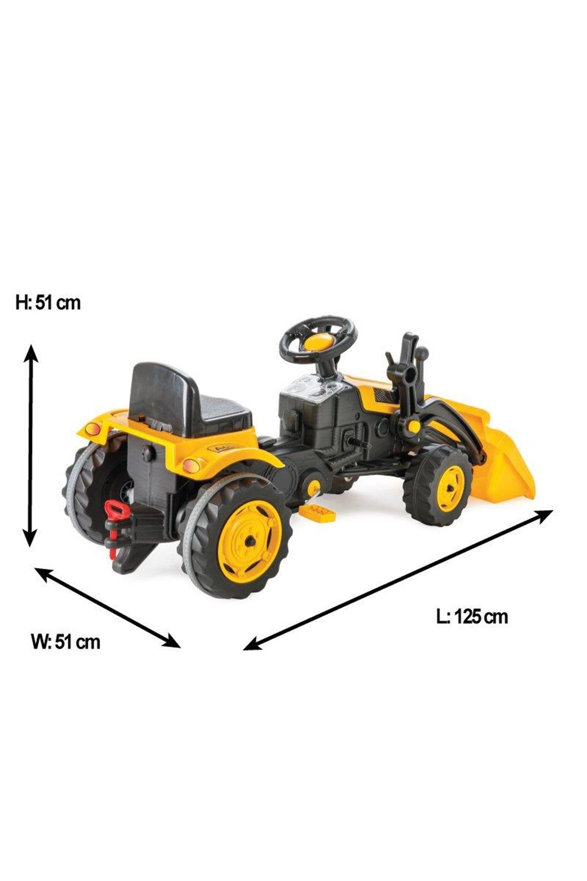 Pilsan Active Kepçeli Traktör