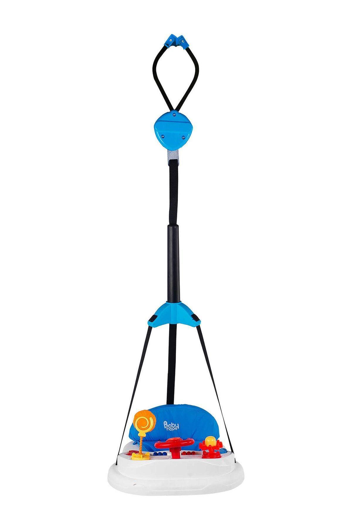 Babyhope 702 Lüks Oyuncaklı Hoppala Mavi