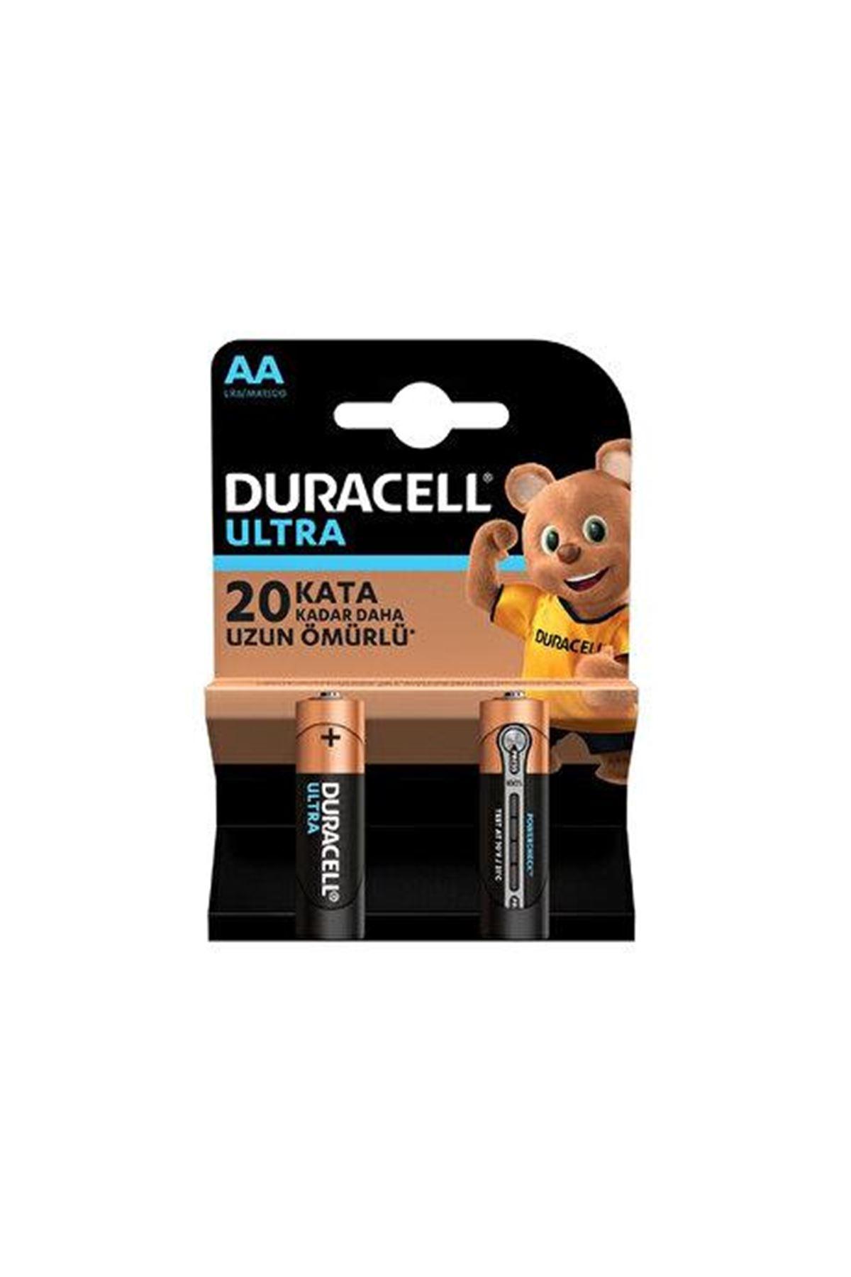 Duracell Ultra Kalem Pil 2Lİ AA