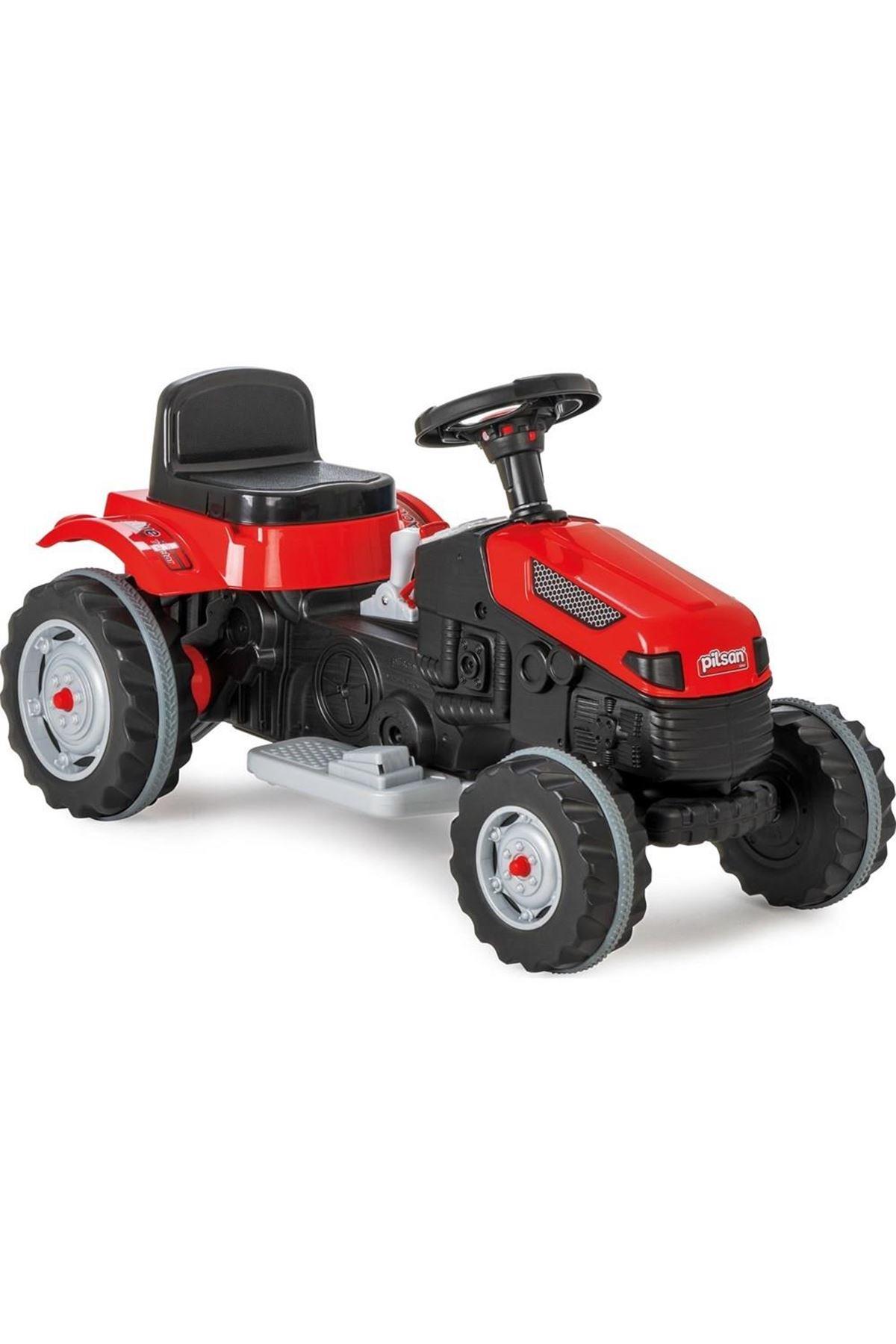 Pilsan Active Akülü Traktör 6V Kırmızı