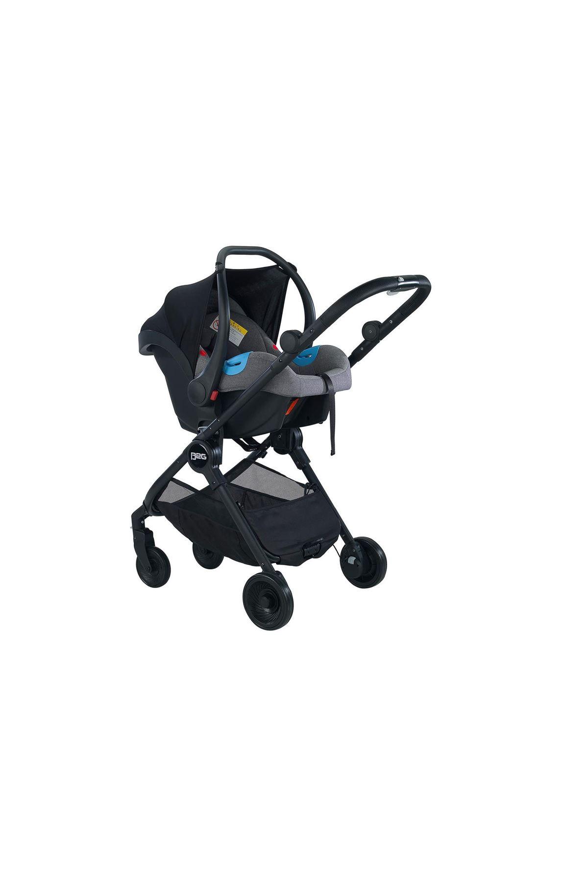 Baby2go Mc Plus Travel Sistem Bebek Arabası 2037 Gri