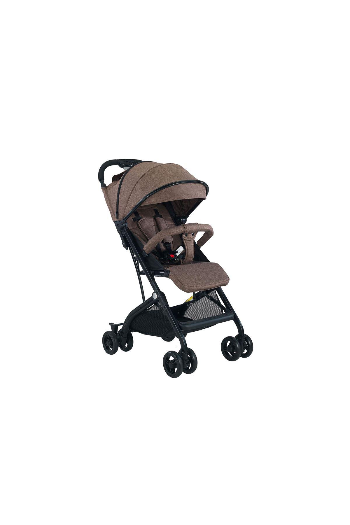 Baby2go Heets Travel Sistem Bebek Arabası 2031 Kahve