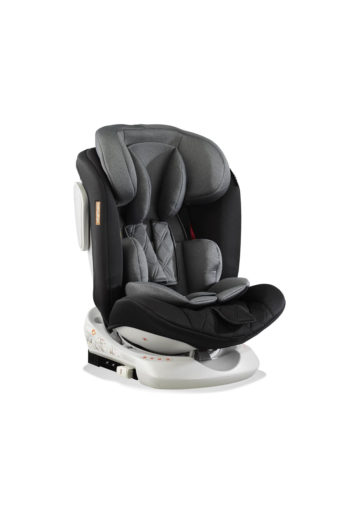 Baby2go Rover Plus İsofixli 0-36 Kg Oto Koltuğu 2061 Gri