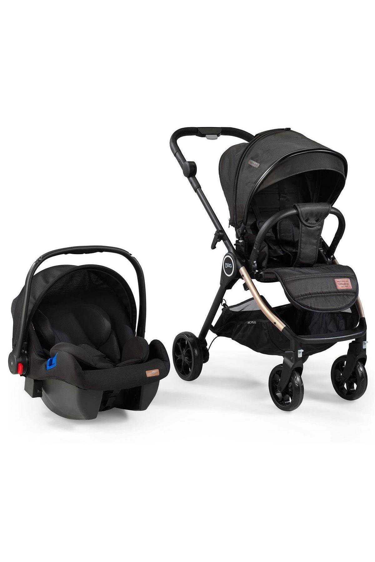 Baby2go Mc Plus Travel Sistem Bebek Arabası 2037 Siyah